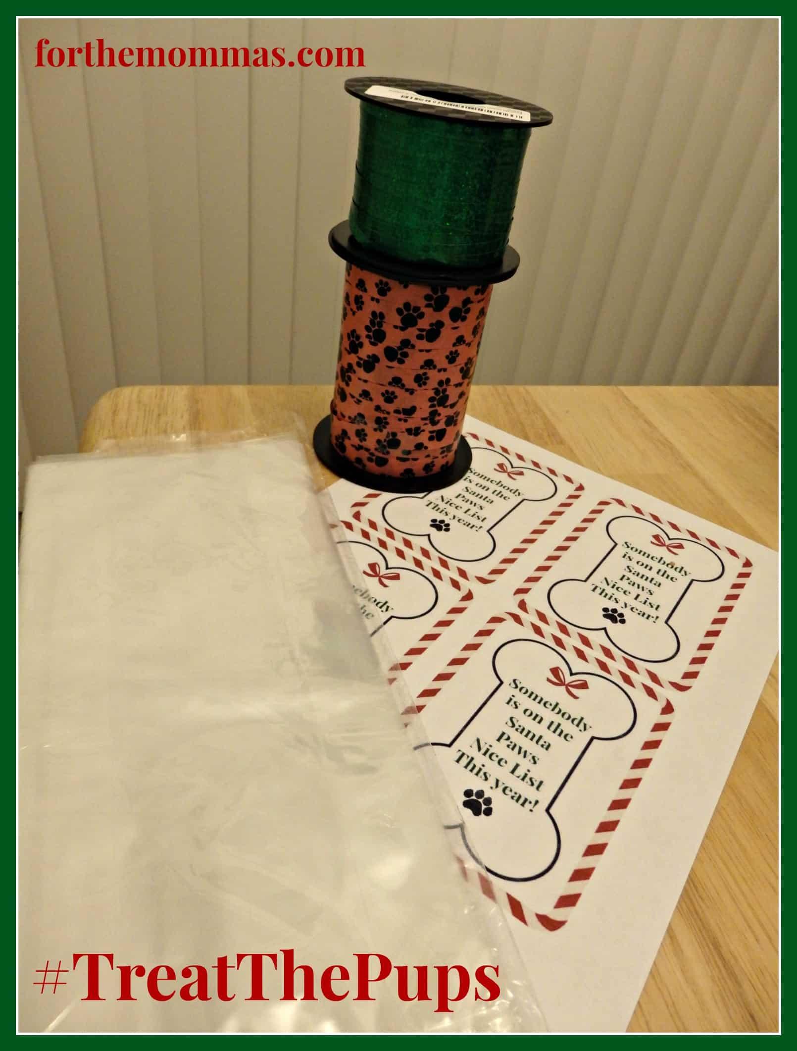 Free Printable DIY Dog Treat Gift Tag