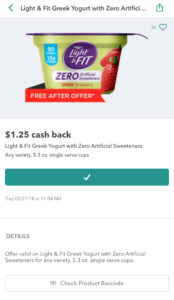Light & Fit Yogurt