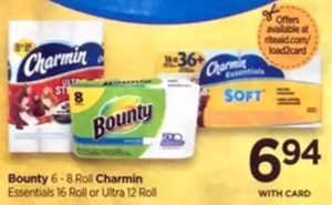 Rite Aid: Bounty Paper Towels ONLY $3.94 Each Starting 1/14