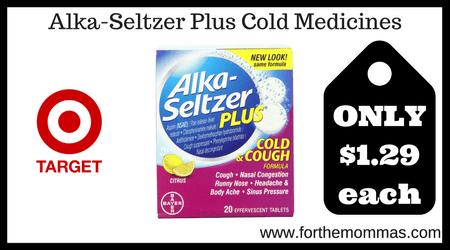 Alka-Seltzer Plus Cold Medicines