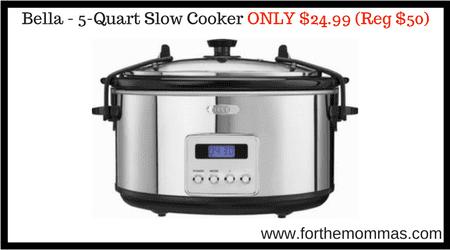 Bella - 5-Quart Slow Cooker