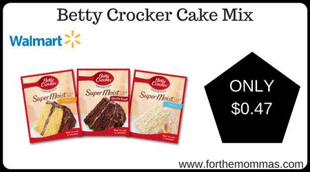 Betty Crocker Cake Mix