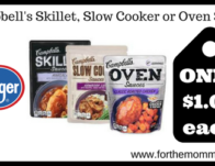 Campbell's Skillet, Slow Cooker or Oven Sauce