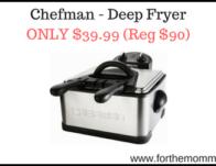 Chefman - Deep Fryer