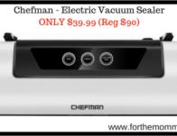 Chefman - Electric Vacuum Sealer