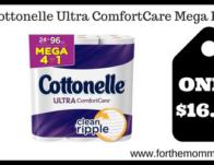 Cottonelle Ultra ComfortCare Mega Rolls