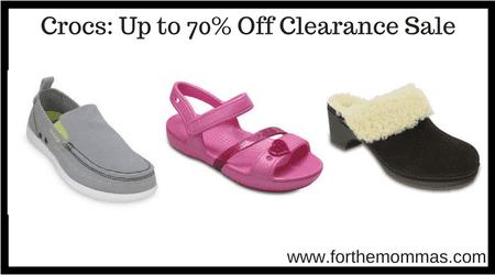 324823b96e8f Crocs  Up to 70% Off Clearance Sale - FTM
