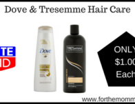 Dove & Tresemme Hair Care