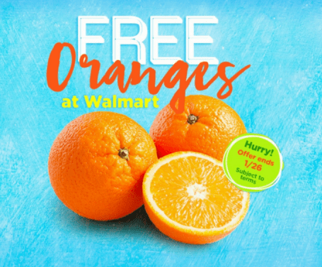 Walmart: FREE Oranges - Up to $2.50!