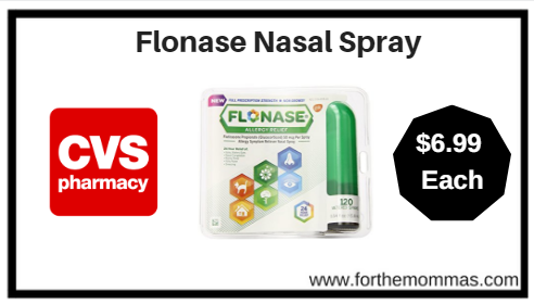 photograph regarding Flonase Printable Coupon called CVS: Flonase 120 Sprays Simply just $6.99 Starting off 1/28 (Reg