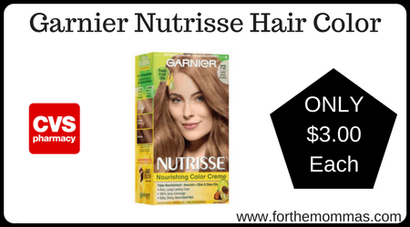 Save $ on Garnier Olia Hair Color at Walmart! There are a couple of $ coupons available. One is a printable and.