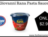 Giovanni Rana Pasta Sauce
