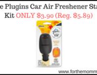 Glade Plugins Car Air Freshener Starter Kit