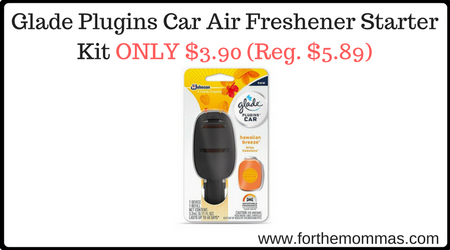 Glade Plugins Car Air Freshener Starter Kit