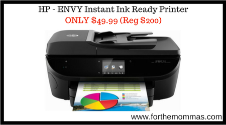 hp envy 7643 wireless all in one instant ink ready printer only shipped reg 200 ftm. Black Bedroom Furniture Sets. Home Design Ideas