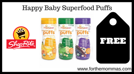 Happy Baby Superfood Puffs