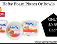 Hefty Foam Plates Or Bowls