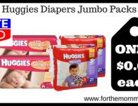 Huggies Diapers Jumbo Packs