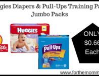 Huggies Diapers & Pull-Ups Training Pants Jumbo Packs