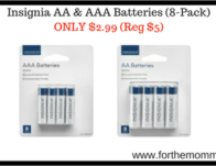 Insignia AA & AAA Batteries