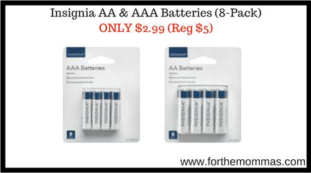 Insignia AA & AAA Batteries