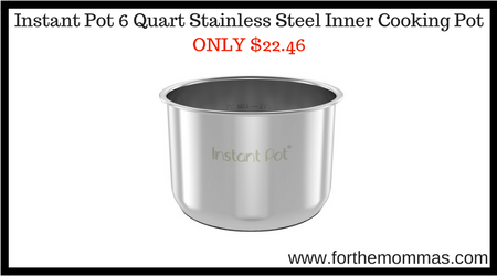 Instant Pot 6 Quart Stainless Steel Inner Cooking Pot