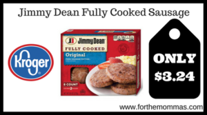 Jimmy Dean Fully Cooked Sausage