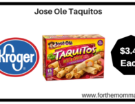 Kroger: Jose Ole Taquitos ONLY $3.49