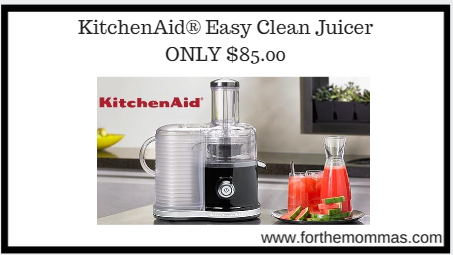 Kitchenaid 174 Easy Clean Juicer Only 85 00 Ftm