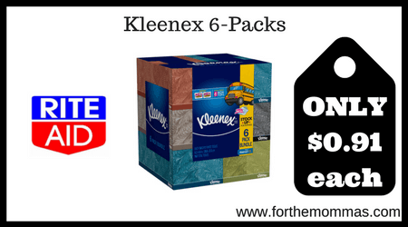 Kleenex 6-Packs