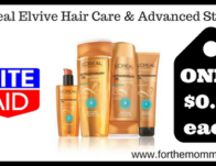 L'Oreal Elvive Hair Care & Advanced Stylers