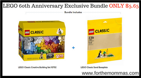 LEGO 60th Anniversary Exclusive Bundle