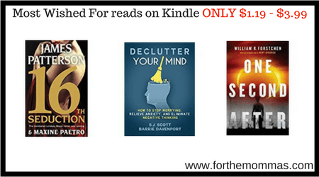 most wished for reads on kindle only 1 19 3 99 ftm