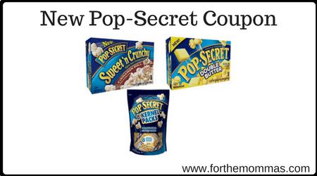 NEW Pop-Secret Coupon