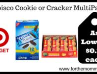 Nabisco Cookie or Cracker MultiPacks
