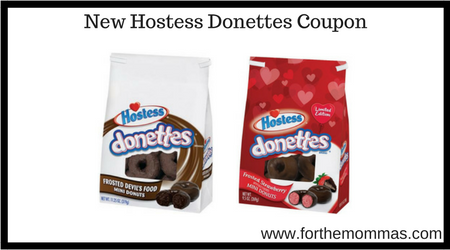 New Hostess Donettes Coupon
