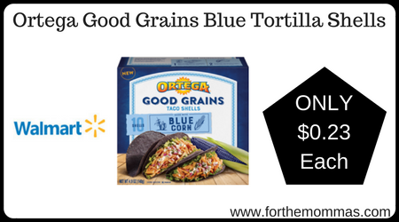 Ortega Good Grains Blue Tortilla Shells