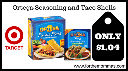 Ortega Seasoning and Taco Shells