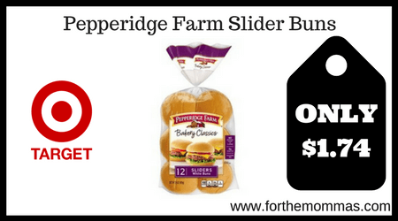 Pepperidge Farm Slider Buns