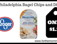 Philadelphia Bagel Chips and Dip