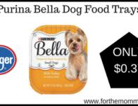 Purina Bella Dog Food Trays