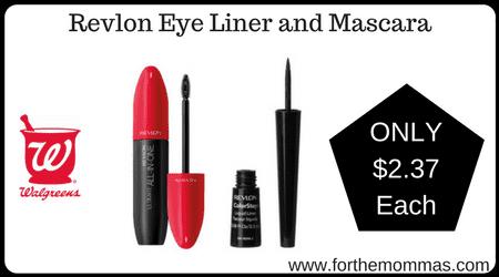 Revlon Eye Liner and Mascara
