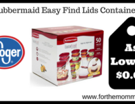 Rubbermaid Easy Find Lids Containers