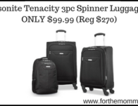 Samsonite Tenacity 3pc Spinner Luggage Set
