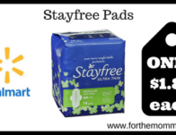 Stayfree Pads