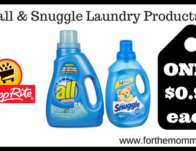 all & Snuggle Laundry Products