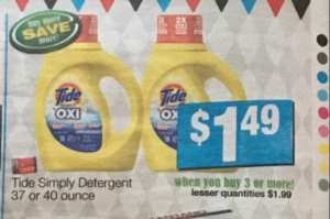 Tide Simply Detergent