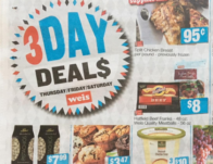 weis 3 day sale