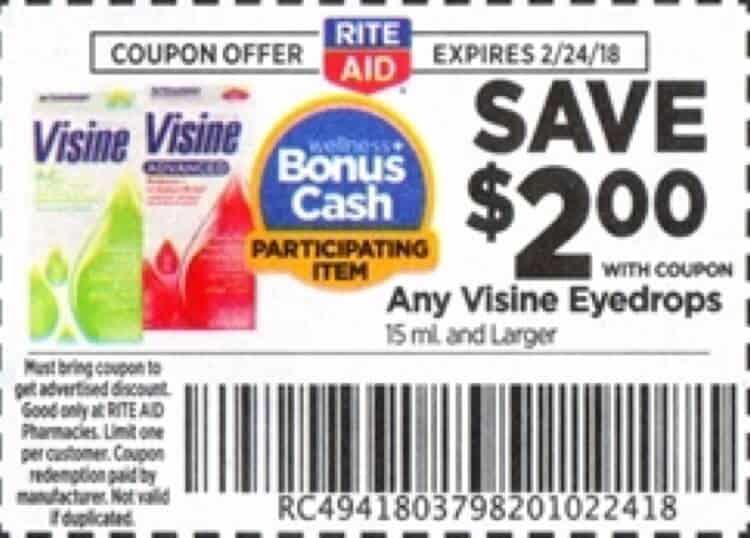 Visine printable coupon 2018