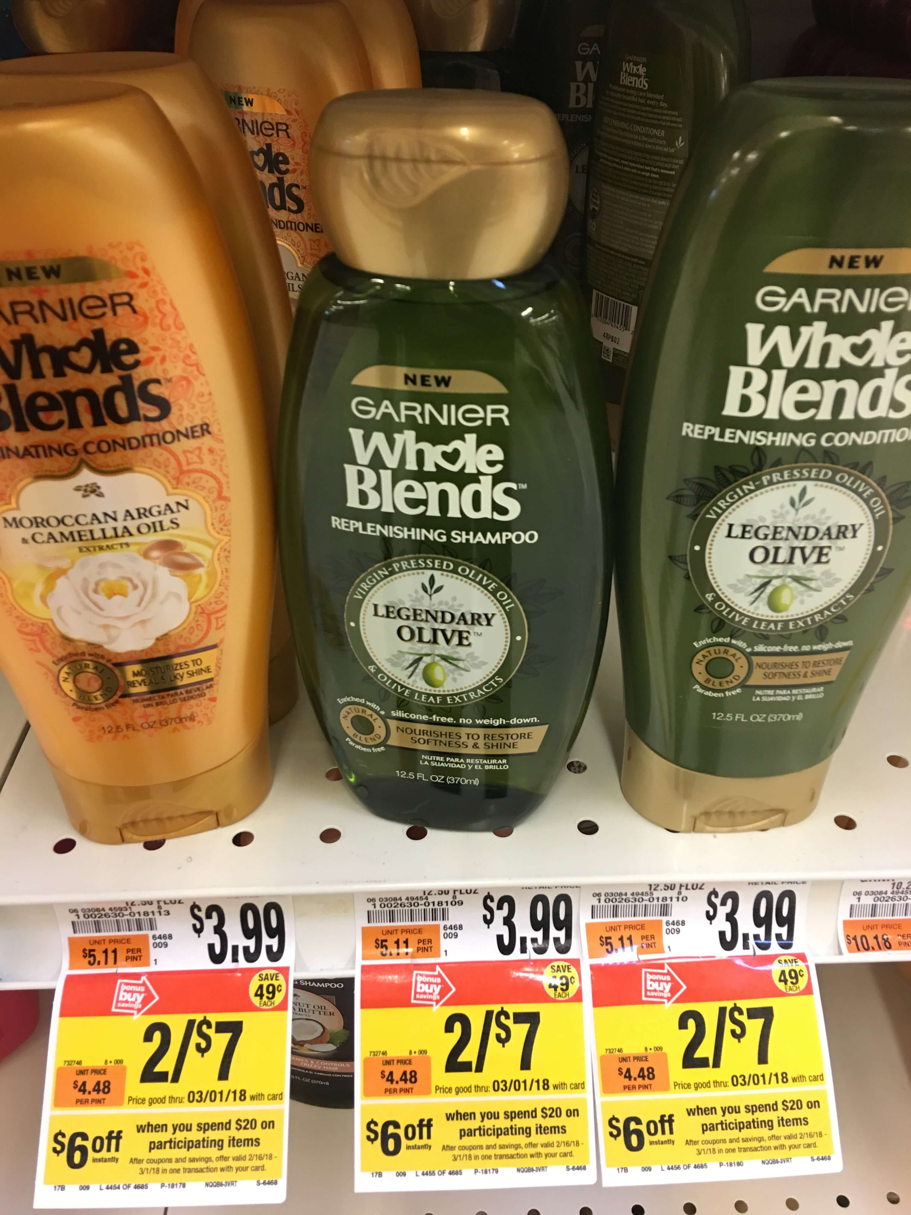 photograph relating to Garnier Whole Blends Printable Coupon identified as Huge: Garnier Comprehensive Blends Hair Merchandise Just $0.33 Every single